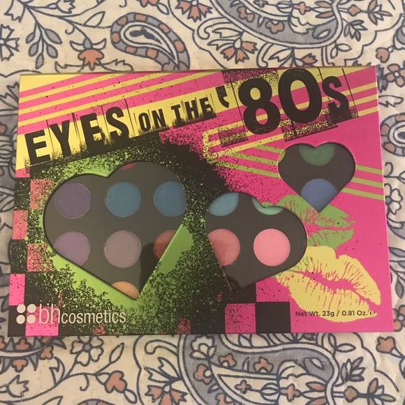 BH Cosmetics Other - BH Cosmetics Eyes on the 80s eyeshadow pallet